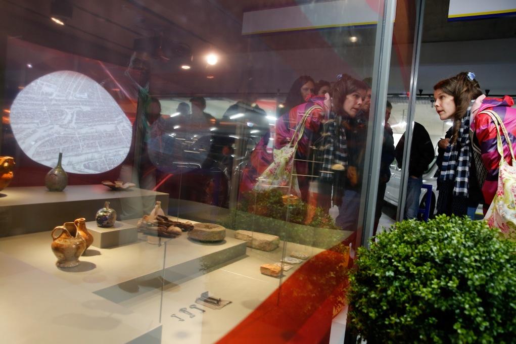 Gratis rondleidingen archeologische expositie De Tijdtrap in de Markthal