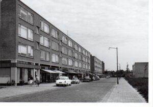Het winkelcentrumpje Teldersweg had een echte buurtfunctie