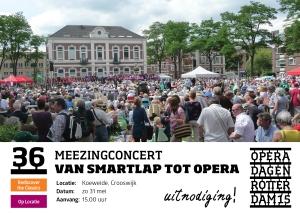 Slotmiddag Operadagen 2015 in de buitenlucht
