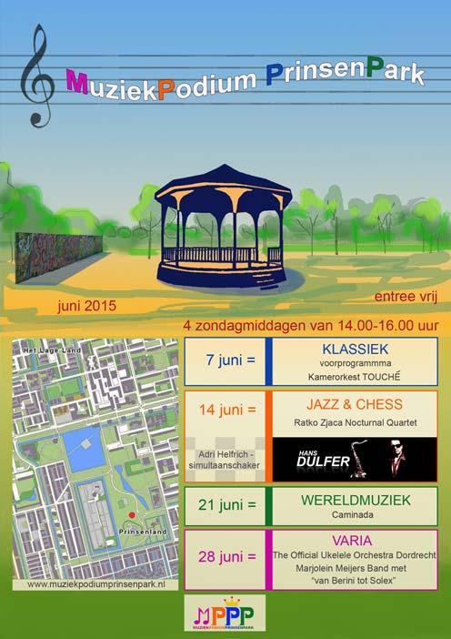 Zomerconcert Muziekpodium Prinsenpark Wereldmuziek
