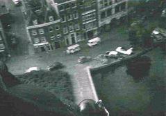 Even voor de landing nog een stukje Crooswijk