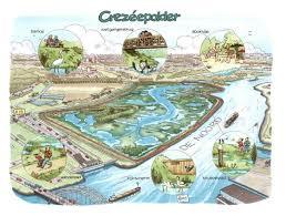 Excursie naar Crezéepolder