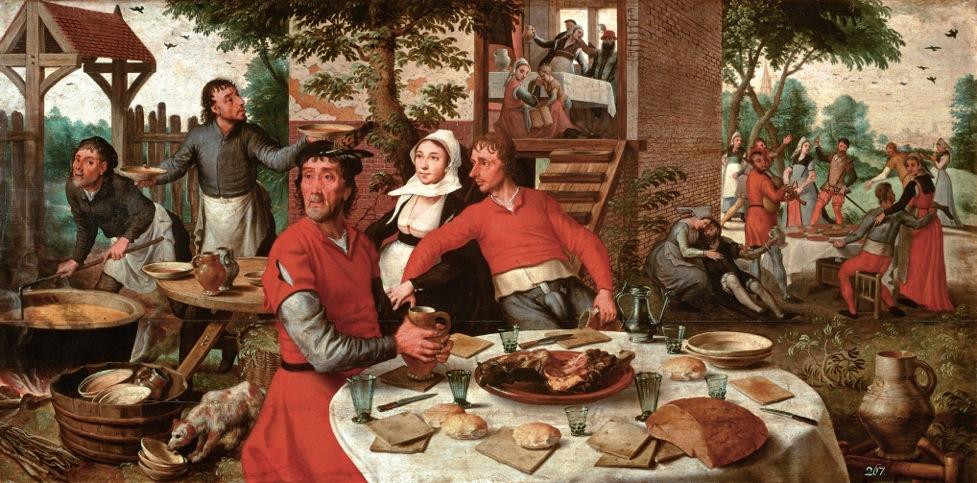 Aan tafel met Pieter Aertsen