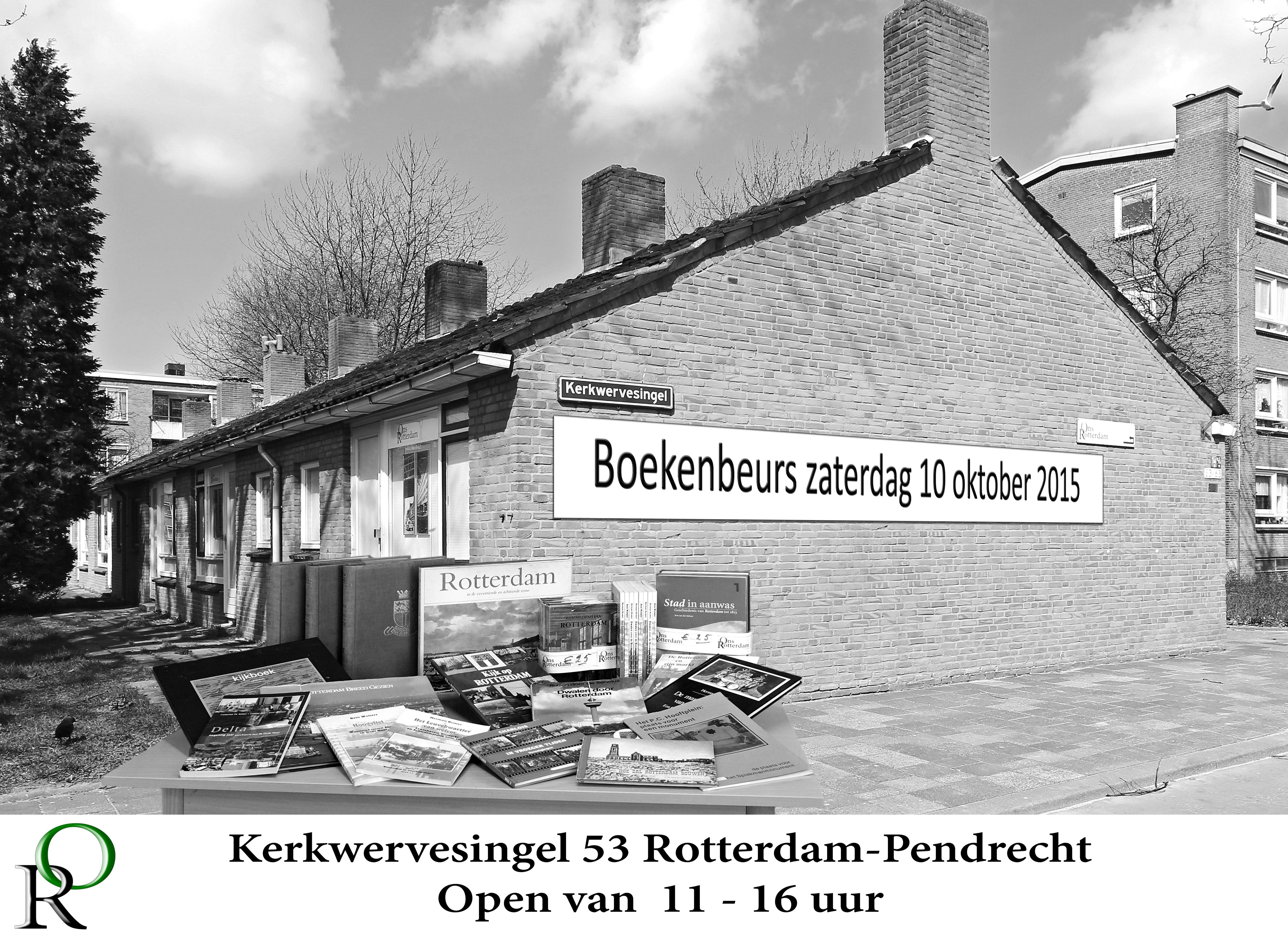 Stichting Ons Rotterdam houdt boekenbeurs