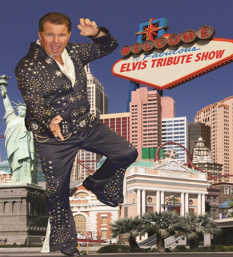 Wally goes Swing en Elvis tribute show