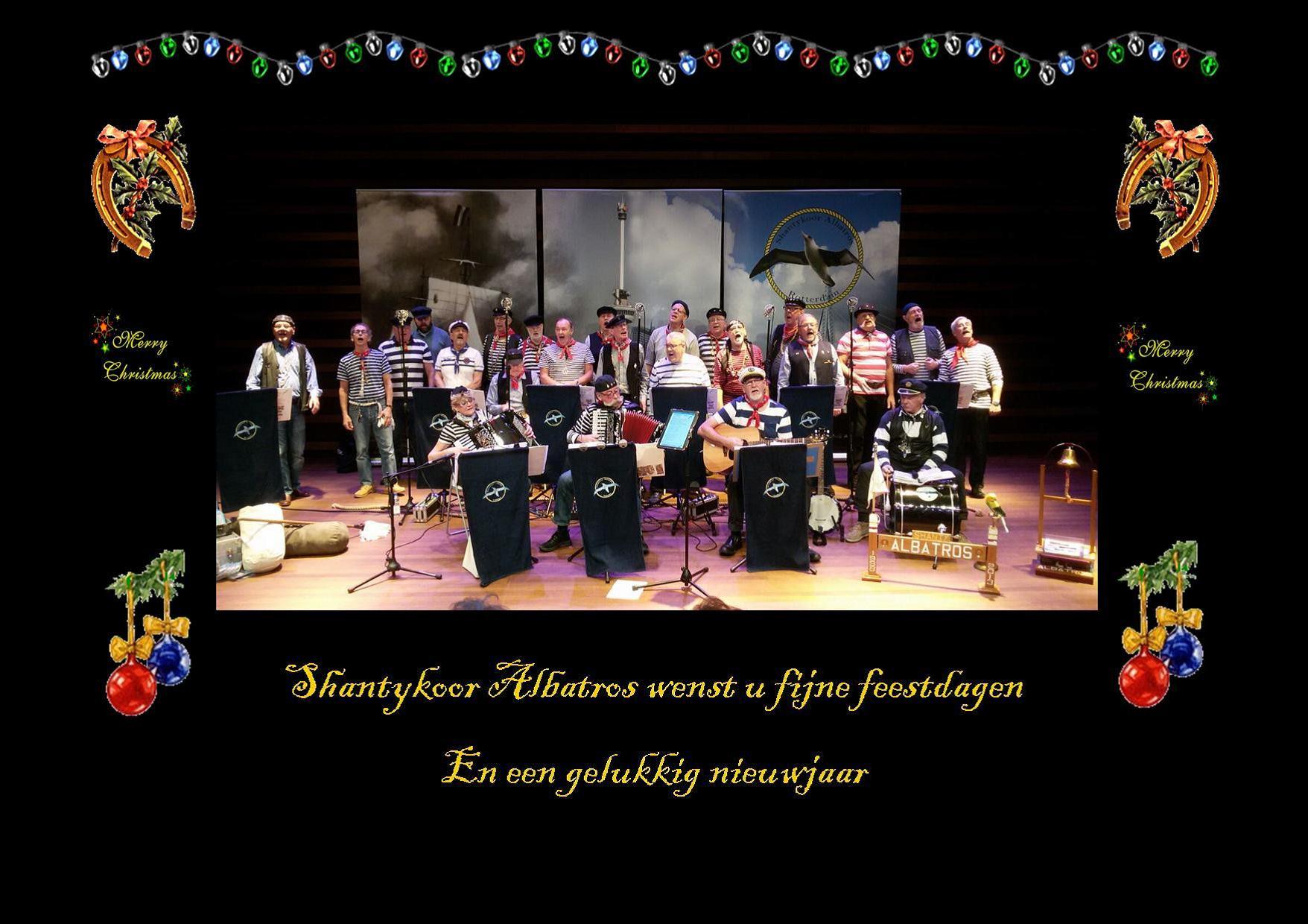 Zondagmiddaglounge: Nieuwjaarsconcert Shantykoor Albatros