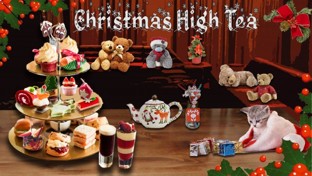 Christmas High tea met Elly & Perry