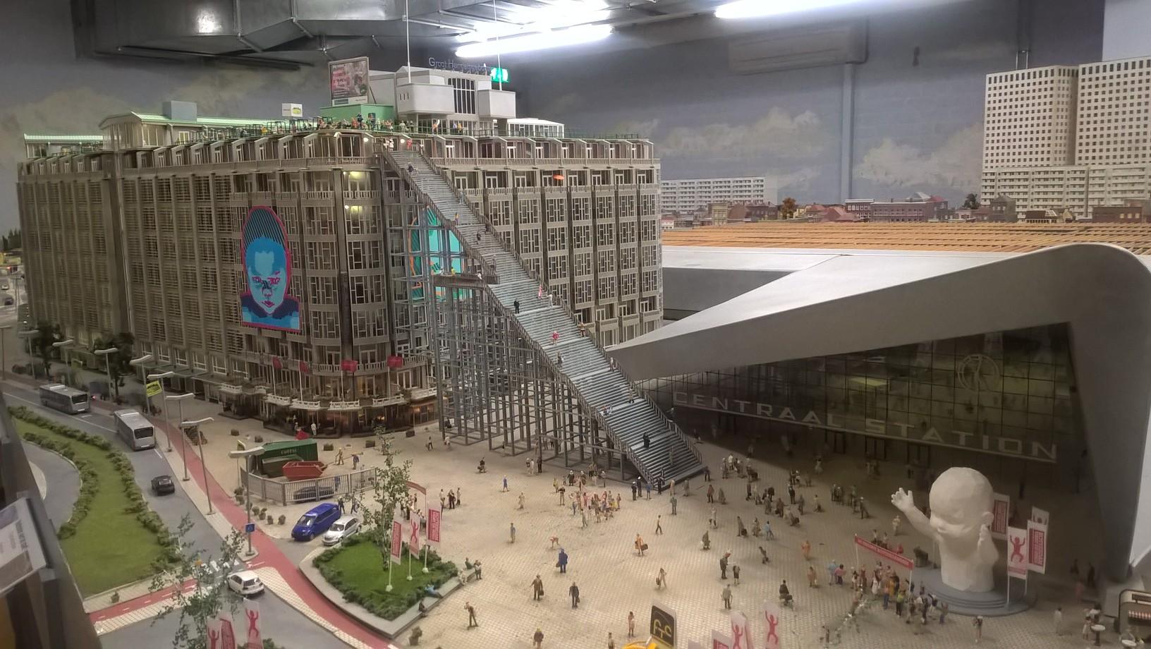 Miniworld Rotterdam viert de stad!