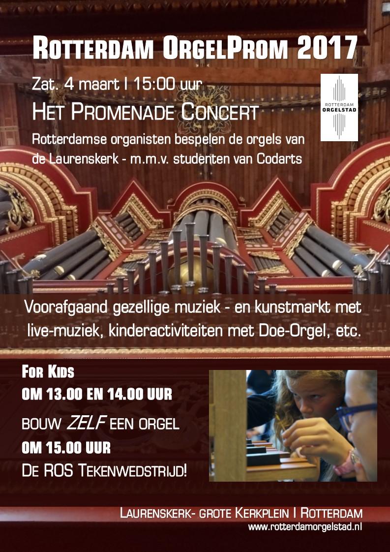 Rotterdamse Orgeldag in Laurenskerk
