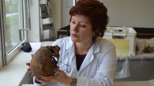 Bibliotheekcollege: Menselijke skeletten