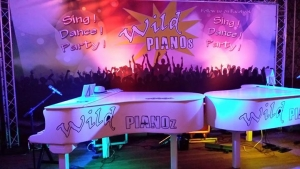 Supershow Wild Pianoz in het Maashaventheater