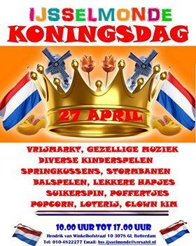 Koningsdag in IJsselmonde