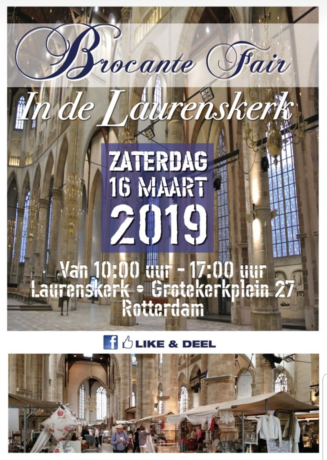Brocante Fair in de Laurenskerk