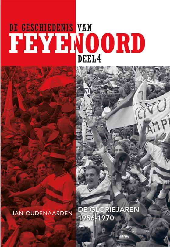Omslag de Geschiedenis van Feyenoord deel 4