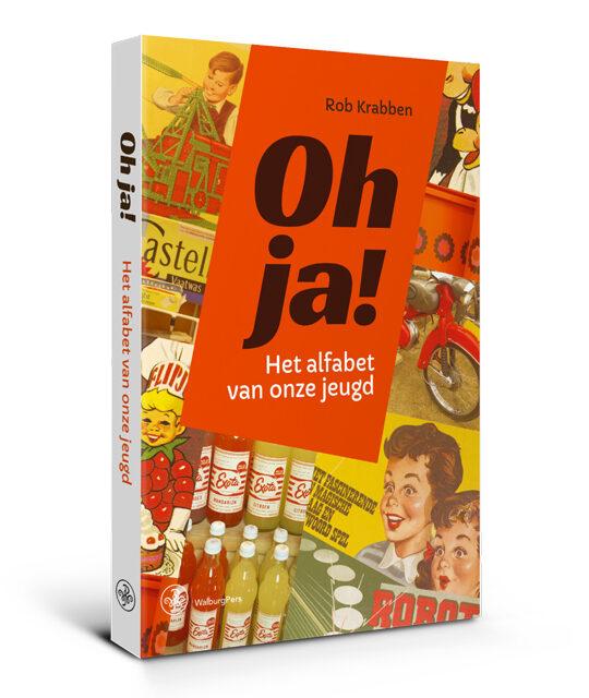 Omslag Oh ja! Het alfabet van onze jeugd